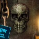 #Tutorial #Photoshop Wallpaper cráneo tallado en una textura de madera by @ildefonsosegura (Wallpaper halloween)