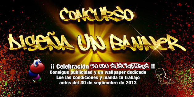 Concurso para celebrar 50.000 suscriptores en el canal de YouTube de @ildefonsosegura