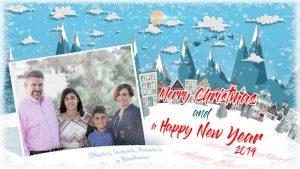 Lee más sobre el artículo Crea tu postal de Navidad con Photoshop by @ildefonsosegura (incluye Editable)