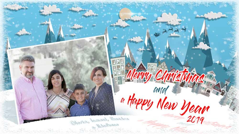Crea tu postal de Navidad con Photoshop by @ildefonsosegura (incluye Editable)