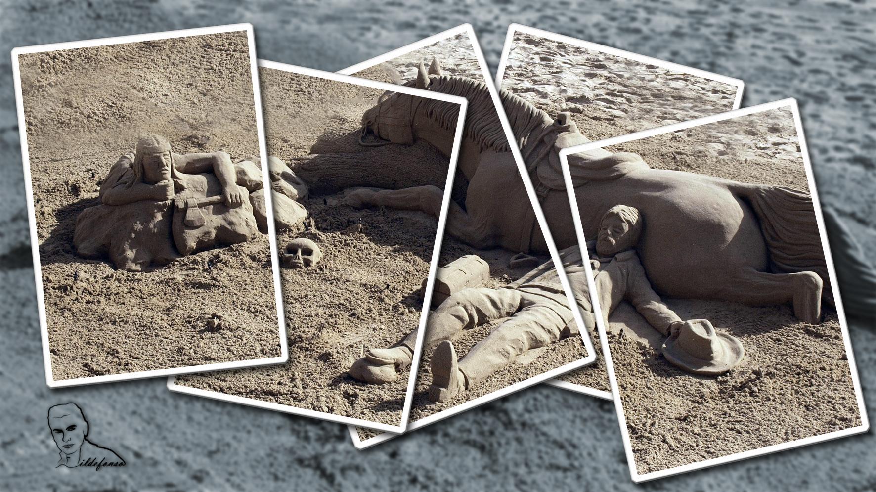 En este momento estás viendo Tutorial Photoshop // Collage de un hombre de arena