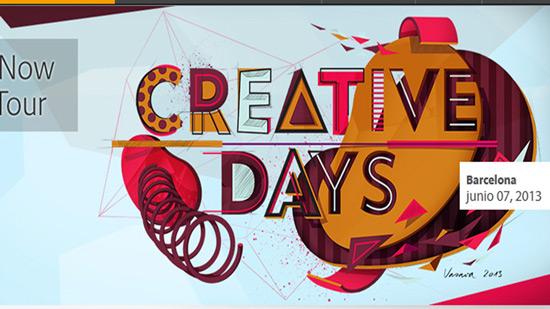 ¿Te gustaría mostrar tu trabajo a profesionales de nivel? hazlo en el #CreativeDays de Adobe