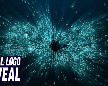 Intro digital con aparición de logo usando texto aleatorio (tutorial After Effects by @ildefonsosegura)
