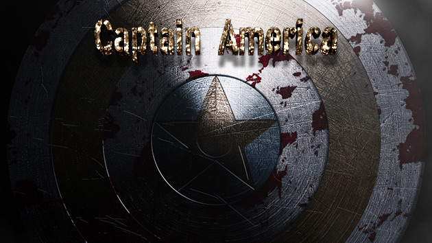 Tutorial Photoshop // Wallpaper Escudo del Capitan América (Captain America Shield) by @ildefonsosegura