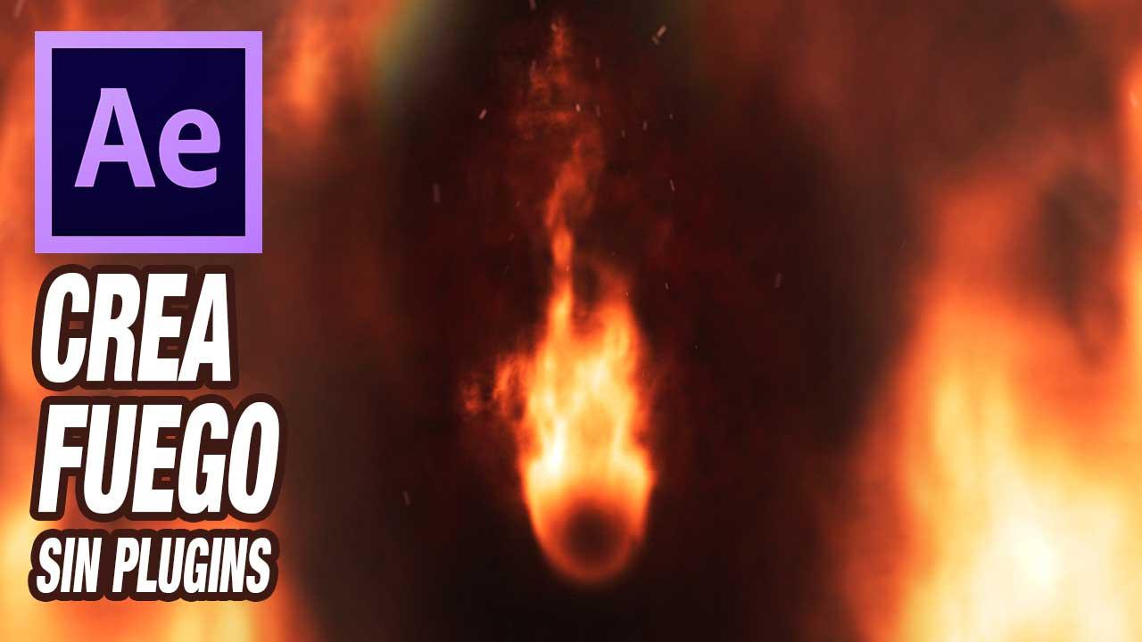 Haz una llama realista desde cero con Tutorial After effects by @ildefonsosegura