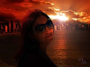 Lee más sobre el artículo Transforma una escena del día a la noche (bonita puesta de sol)