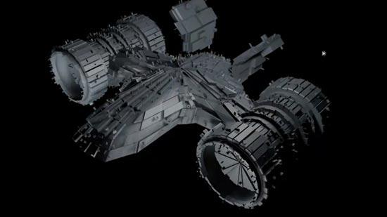 Creamos una nave espacial con el pluglin Greebler de Cinema4D