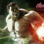 Trucos curiosos de iluminación con #Photoshop by @ildefonsosegura (Wallpaper Hulk)