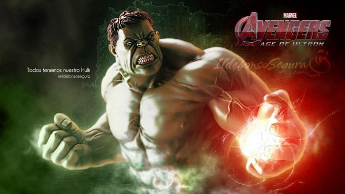 Lee más sobre el artículo Tutorial Photoshop // Trucos curiosos de iluminación by @ildefonsosegura (Wallpaper Hulk)