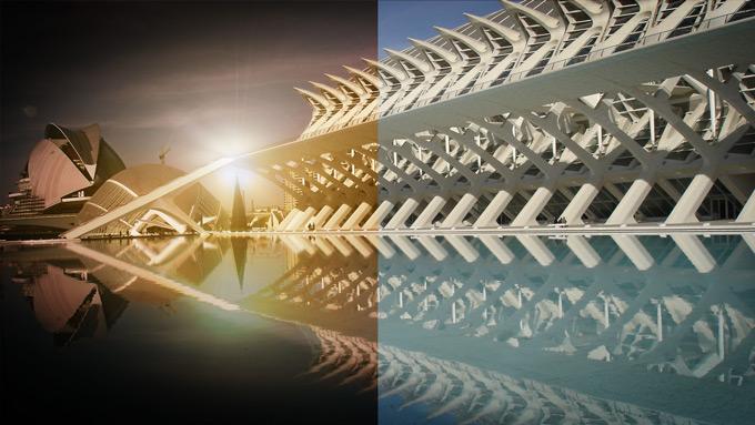 #Tutorial #photoshop efecto retoque de iluminación de un atardecer by @ildefonsosegura