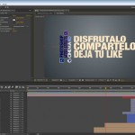 Crea tu propia intro con After Effects. Trucos y utilidades para dar movimiento sincronizado con audio by @ildefonsosegura