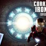 Tutorial Photoshop // Efectos de luz en el corazon de iron man by @ildefonsosegura