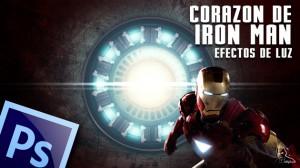 Lee más sobre el artículo Tutorial Photoshop // Efectos de luz en el corazon de iron man by @ildefonsosegura