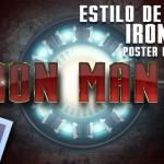 Crea el texto del cartel de la pelicula Iron Man 3 con Photoshop by @ildefonsosegura