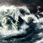 Tutorial Photoshop // Wallpaper Tsunami en New York