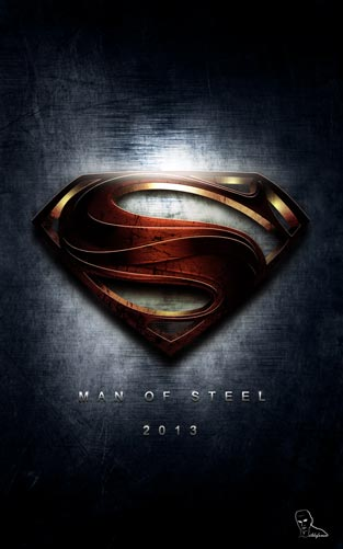 Tutorial Photoshop // Construye el logo de Superman 2013 – man of steel