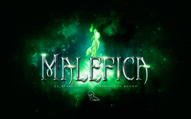 Tutorial Photoshop // Crea tu wallpaper de #malefica (#maleficent) by @ildefonsosegura