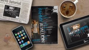 Lee más sobre el artículo Tutorial Photoshop // Haz tu propio Mockup de papel doblado by @ildefonsosegura