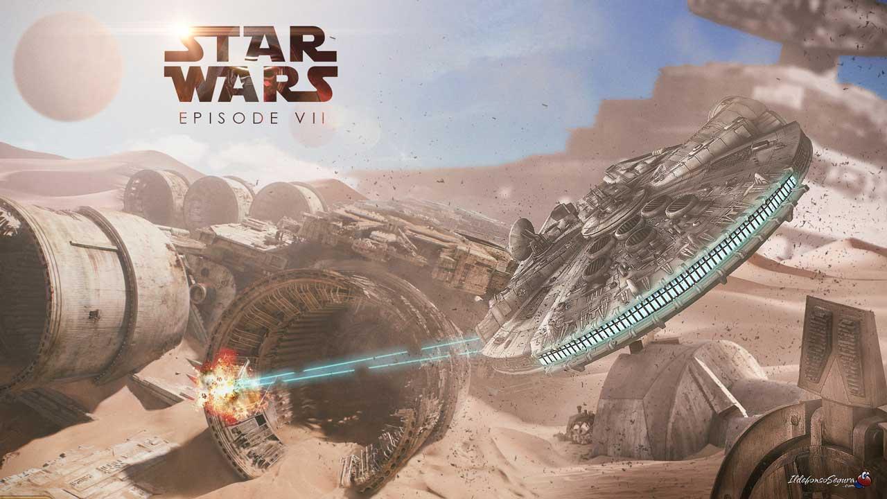 Lee más sobre el artículo Making of del #wallpaper #StarWarsTheForceAwakens Episodio VII con Photoshop by @ildefonsosegura