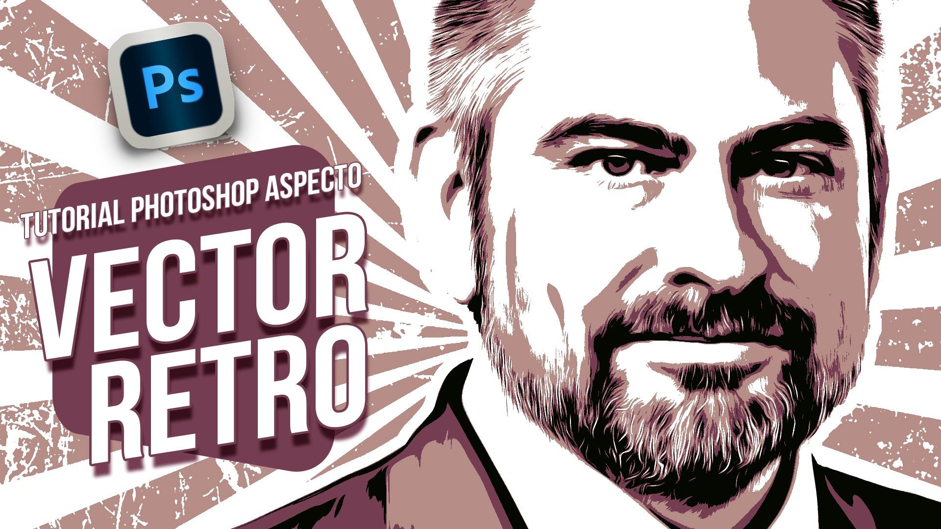 Lee más sobre el artículo Tutorial Photoshop // Tu retrato con aspecto vectorizado retro
