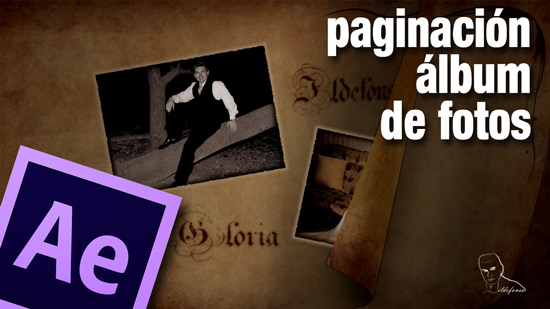 Tutorial de After Effects Cs6 y Editable de animación con paginado de album de fotos by @ildefonsosegura