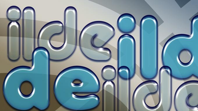 #Tutorial #Photoshop texto estilo globo, plástico, látex by @ildefonsosegura (incluye editable psd con estilo)