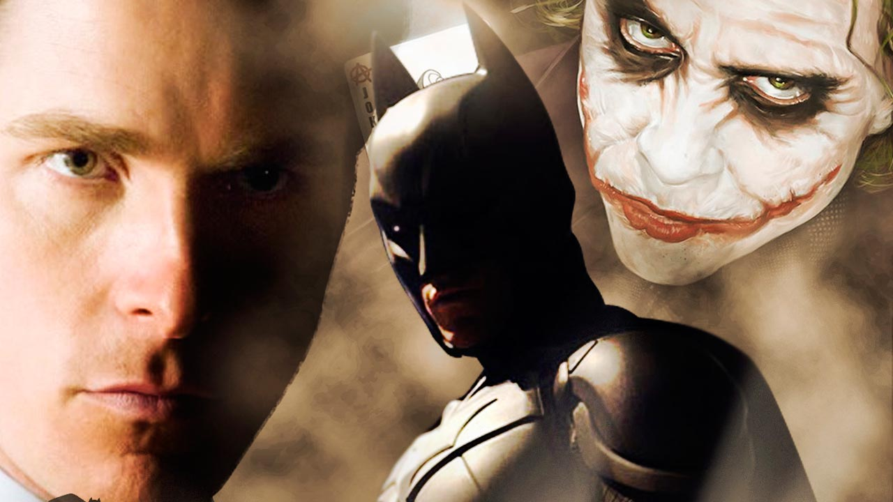 Técnicas de iluminación luces y sombras (cartel de cine Batman)