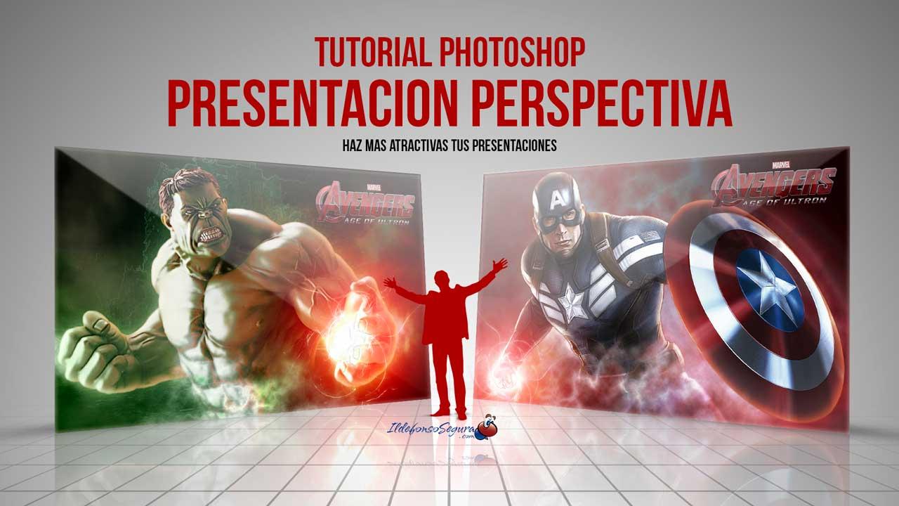 En este momento estás viendo Plantilla presentación elegante con Photoshop // Tutorial