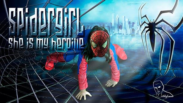 Lee más sobre el artículo Tutorial Photoshop // Construye una tela de araña (Spidergirl my heroine)