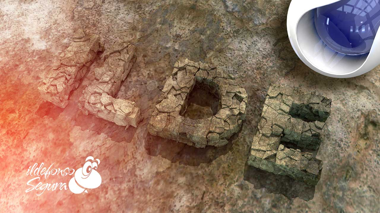 En este momento estás viendo Create tu propio texto 3D con textura de piedra // Tutorial Cinema4D by @ildefonsosegura