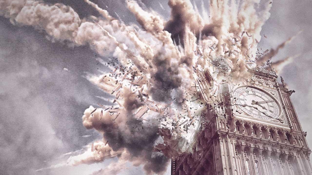 Aprende a crear una explosión por impacto en Big Ben con #Photoshop by @ildefonsosegura