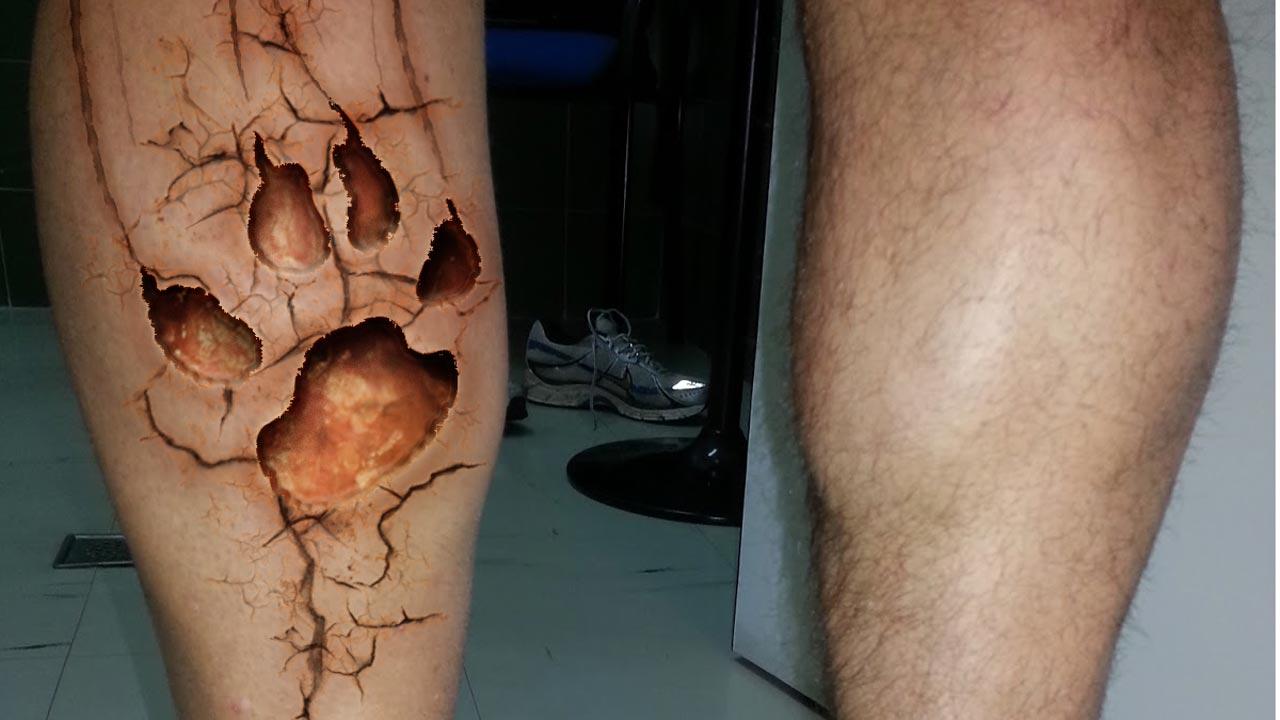 Diseña tu tatuaje de desgarro con #photoshop by @ildefonsosegura