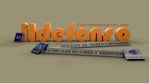 Intro de texto flexible al estilo nickelodeon con Cinema4D