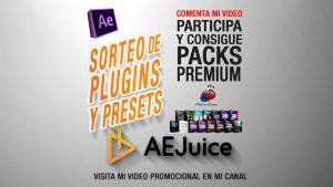 Lee más sobre el artículo GRATIS Plugins y Presets de After Effects con AEJuice + Sorteo