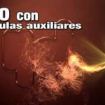 Haz una intro con particulas auxiliares de trapcode particular en After Effects