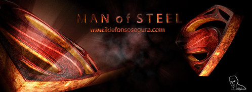 Crea, Texturiza y Anima el logo de man of stell con Cinema4D y After Effects