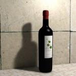 Haz una botella de vino con Cinema4D y anímala