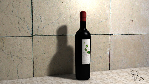 Lee más sobre el artículo Haz una botella de vino con Cinema4D y anímala