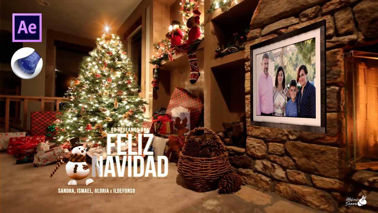 Lee más sobre el artículo Feliz Navidad //  Felicitación navideña con After Effects y su plugin cineware by @ildefonsosegura