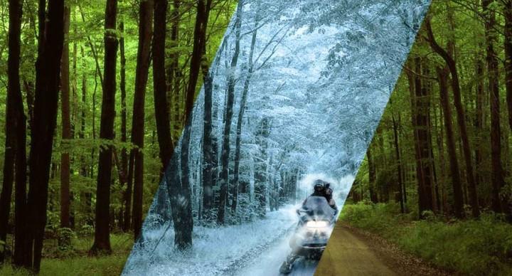 Tutorial Photoshop fotomanipulación paisaje verano a paisaje nevado en invierno by @ildefonsosegura