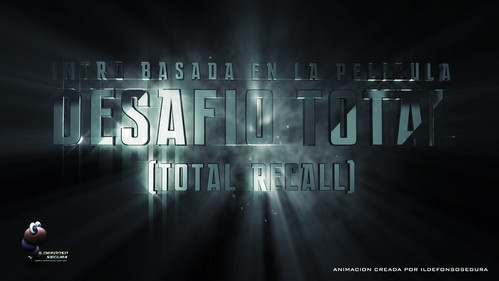 Intro de la película Total Recall 2012 con Cinema4D y After Effects