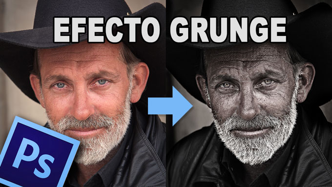 Tutorial #Photoshop efecto grunge by @Prismatutorial en @ildefonsosegura