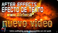 Efecto de entrada de texto para intros con After Effects