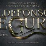 Crea el texto de la película Animales Fantásticos con Photoshop by @ildefonsosegura (Incluye editable)