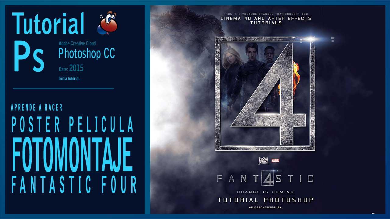 Lee más sobre el artículo Tutorial: Como hacer el póster de #FantasticFour 2015 con #photoshop by @ildefonsosegura