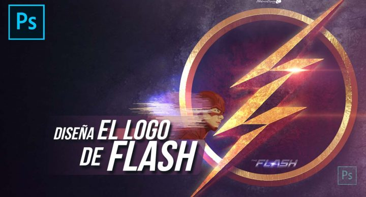 Logo de Flash desde cero con Photoshop by @ildefonsosegura