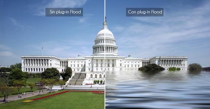Lee más sobre el artículo Tutorial Photoshop // Realizar una inundación en 1 minuto con el plug-in FLOOD by @ildefonsosegura