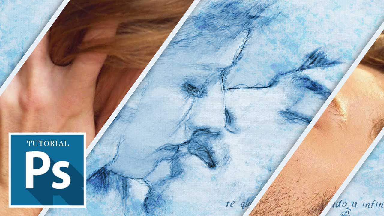 Convierte una foto en un boceto de dibujo con Photosop by @ildefonsosegura