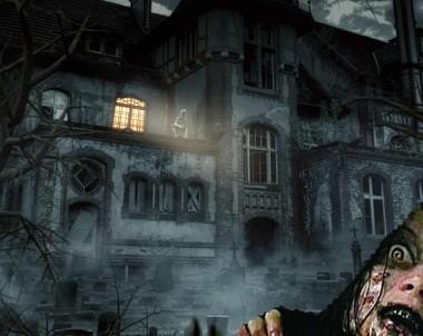 Fotomontaje halloween hauted house con Photoshop by @ildefonsosegura