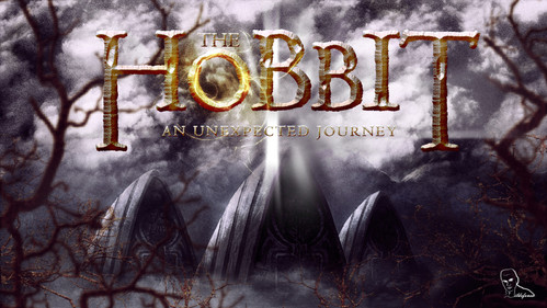 Wallpaper de la película The Hobbit // tutorial Photoshop
